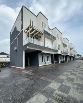 5 Bedrooms Terrace with Inverter and Ac Installed, Oral Estate, By Second Toll Gate, Ikota, Lekki, Lagos, Terraced Duplex for Rent
