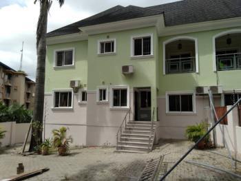 5 Bedroom Duplex with 2 Room Bq, Wuse 2, Abuja, Semi-detached Duplex for Rent