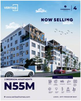 Luxurious 2 Bedroom Apartment, Camberwall Advantage 4, Ikate Elegushi, Lekki, Lagos, Self Contained (single Rooms) for Sale