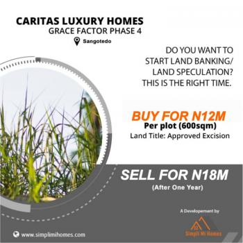 Affordable Land, Grace Factor Phase 4, Monastery Road, Sangotedo, Ajah, Lagos, Commercial Land for Sale