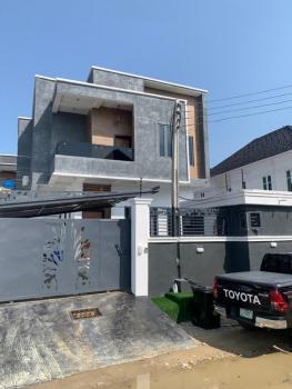 4 Bedroom Terrace Duplex with a Room Bq, Steve Adeogun Street, Ilasan, Lekki, Lagos, Terraced Duplex for Sale