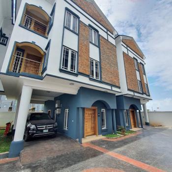 Luxury Built 4 Bedrooms Townhouse in a Fascinating Neighborhood, Lekki Phase 1, Lekki, Lagos, Terraced Duplex for Rent