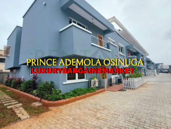 Direct Cash Clients Only - New 4 Bedroom Terrace House+bq, Parkview, Ikoyi, Lagos, Terraced Duplex for Rent
