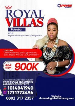 Land. Another Banger, Royal Villas Estate, Obaekwu Akwuisi, Idumu, Issele Azagba, Aniocha Lga, Asaba, Delta, Mixed-use Land for Sale