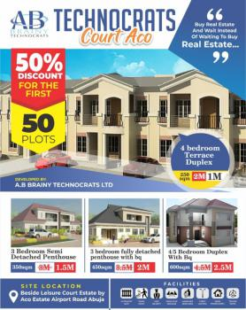 Technocrats Court Has Made Housing Affordable, Airport  Road By Leisure Court, Lugbe District, Abuja, Residential Land for Sale