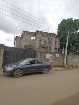 Executive Uncompleted 5 Bedroom Duplex in an Estate with Cofo, Off Carwash Bus Stop Unity Estate, Egbeda, Alimosho, Lagos, Detached Duplex for Sale