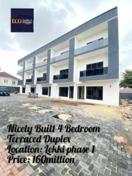 Nicely Built 4 Bedroom Terraced Duplexes with a Roof Top Terrace, Lekki Phase 1, Lekki, Lagos, Terraced Duplex for Sale