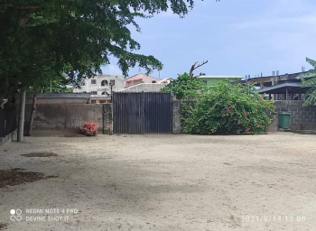 1777sqm with Bungalow Facing The Express, Igbo Efon, Lekki, Lagos, Commercial Land for Sale
