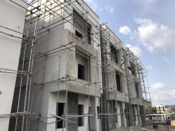 90% Completed 4 Bedrooms Terrace Duplex with Boys Quarters, Near Naval Senior Quarters, Jahi, Abuja, Terraced Duplex for Sale