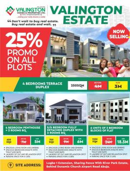 Fastest Developing Estate, Valington Estate, River Park Estate Behind Dunamis Glory Dome Church, Lugbe District, Abuja, Residential Land for Sale