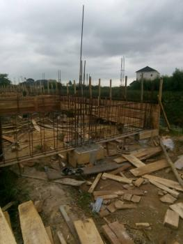 Half Plot of Land with Foundation, Ready to Build 4 Bedroom Duplex, Agboyi Estate, Alapere, Ketu, Lagos, Residential Land for Sale