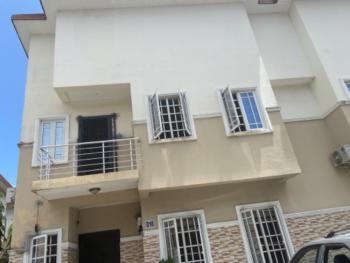 3 Bedrooms with Bq, Cooplag Gardens Estate, Lafiaji, Lekki, Lagos, Terraced Duplex for Rent