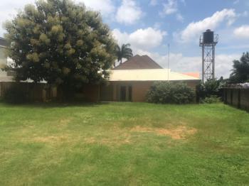 Empty Residential Land, Off Ademola Adetokumbo Crescent, Wuse 2, Abuja, Land for Sale