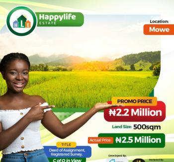 Land, Happy Life Estate, Mowe Ofada, Ogun, Mixed-use Land for Sale