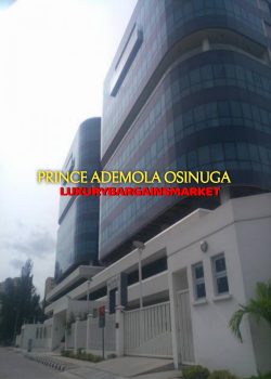 Top of The Range Office Building, Banana Island Estate, Ikoyi, Lagos, Office Space for Rent