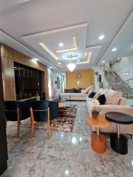 Furnished 5 Bedrooms Fully Detached House, Lekki Palm City Estate, Off Ado Road, Lekki Penninsula, Ajah, Lagos, Detached Duplex for Sale