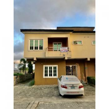 4 Bedrooms Terraced Duplex with Bq in a Serene Environment, Lekki Gardens Estate, Phase 4, Ajah, Lagos, Terraced Duplex for Sale