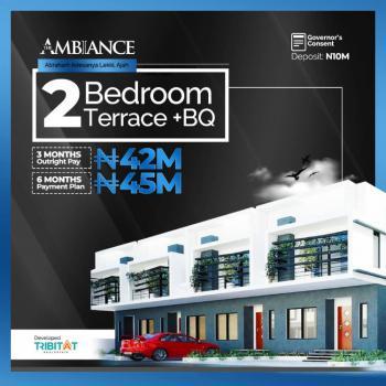 Exotic 2 Bedroom Terraced Duplex with Bq, Ajiwe, Ajah, Lagos, Terraced Duplex for Sale