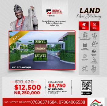 Mixed-use Estate Plot(s) of Land, Beryl Estate, Adjacent Dominion University, Lagos- Ibadan Expressway, Ibadan, Oyo, Mixed-use Land for Sale
