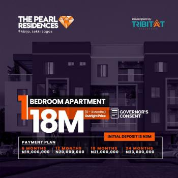 Beautifully Design 1 Bedroom Apartment, Lekki Pearl Garden, Abijo, Lekki, Lagos, Mini Flat for Sale