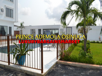 Top Rated Waterfront 3 Bedrooms Apartment + Jetty + Pool Etc, Banana Island, Ikoyi, Lagos, Flat / Apartment for Rent