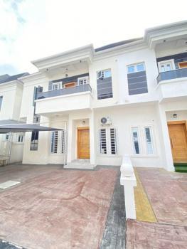 4 Bedrooms Semi Detached Duplex with a Maids Room, Chevron, Lekki, Lagos, Semi-detached Duplex for Rent