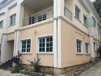 Decently Built 5 Bedroom Semi Detached Duplex with a Room Bq, Aminu Kano, Wuse 2, Abuja, Semi-detached Duplex for Rent