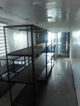 Shop Space on Ground Floor with P O P and Toilet, Adeniran Ogunsanya, Surulere, Lagos, Shop for Rent