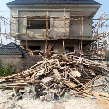 4 Bedroom Detached House with a Room Bq, Whitesand Estate, Ologolo, Lekki, Lagos, Detached Duplex for Sale