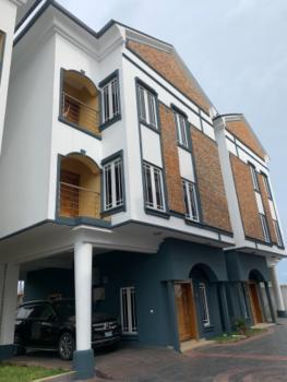 Amazing Built 4 Bedrooms Town House in a Prestigious Estate, Lekki Phase 1, Lekki, Lagos, Terraced Duplex for Rent