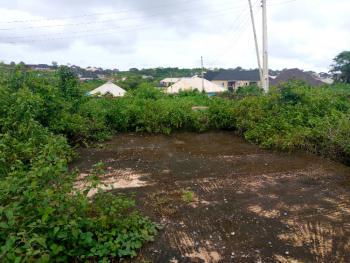Half Plot of Land with German Floor of 3 Bedroom Bungalow + Free Plan, Lane 2, Ashaka Estate Near Abese, Elebu Off Akala Express, Oluyole, Oyo, Residential Land for Sale