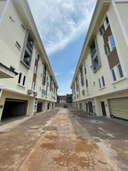 Luxury 5 Bedrooms Terrace Duplex with Bq, By Chevron, Agungi, Lekki, Lagos, Terraced Duplex for Sale