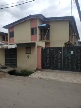 Spacious 3 Bedroom Flat Upstairs, Off Enitan Road, Aguda, Surulere, Lagos, Flat / Apartment for Rent