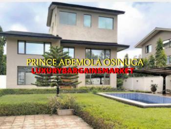 Fully Detached 5 Bedrooms House + Gym + Garden + Pool, Banana Island Estate, Ikoyi, Lagos, Detached Duplex for Rent