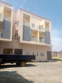 Brand New 4 Bedroom Terace Duplex with 1 Room Bq, Guzape District, Abuja, Terraced Duplex for Sale