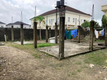 Half Plot of Land (back) of About 304sqm in a Gated Estate, Off Freedom Way, Lekki Phase 1, Lekki, Lagos, Residential Land for Sale