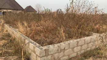 800sqm Estate Bungalow Land with Foundation, Dagbana, Behind Jikwoyi Phase 3, Phase 4, Jikwoyi, Abuja, Residential Land for Sale