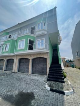 Luxury 4 Bedroom Fully Serviced Terrace Duplex with a Swimming Pool, Chevron Drive, Lekki Expressway, Lekki, Lagos, Terraced Duplex for Sale