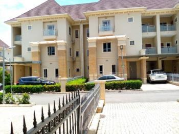 Nicely Built 4 Bedroom Terrace Duplex with a Room Bq, Wuye, Abuja, House for Rent