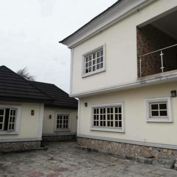 Modern 4 Bedroom Fully Detached Duplex with 2 Rooms Bq, Eagle Island Estate, Rumueme, Port Harcourt, Rivers, Detached Duplex for Sale