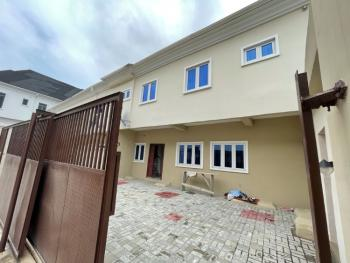 Luxury 4 Bedrooms Terrace Duplex in a Private Self Compound, By Second Toll Gate, Lekki, Lagos, Terraced Duplex for Sale