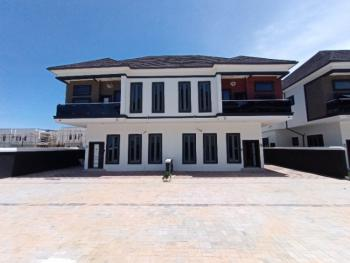 Well Finished 4 Bedroom Semi Detached Duplex with Bq with 24hrs Light, Chevron Toll Gate, Lekki, Lagos, Semi-detached Duplex for Rent