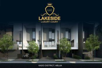 4 Bedrooms Terraced Duplex + Bq, Lakeside Luxury Court, Jabi, Abuja, Terraced Duplex for Sale