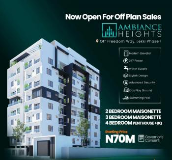 3 Bedroom Maisonette, Off Freedom Way, Lekki, Lagos, Terraced Duplex for Sale