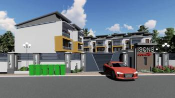 4 Units of 4 Bedrooms Terrace Duplex House with Bq, Isons Court By Jabi Lake, Life Camp, Abuja, Terraced Duplex for Sale