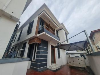 Brand New 4 Bedroom Fully Detached Duplex with Bq,fitted Kitchen, Chevron, Lekki, Lagos, Detached Duplex for Sale