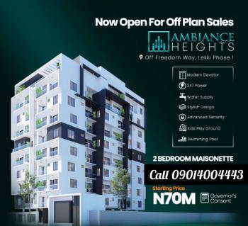 2 Bedroom Maisonette, Off Freedom Way, Lekki Phase 1, Lekki, Lagos, House for Sale