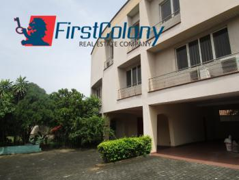Ample 4 Bedroom Detached House for Office Or Residential Use, 2nd Avenue Estate, Ikoyi, Lagos, Detached Duplex for Rent