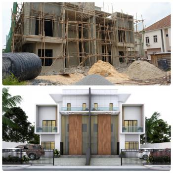 Luxury 2 Units of 5b Bedroom with Bq in a Secured Estate., Victory Park, Osapa, Lekki Phase 1, Lekki, Lagos, Semi-detached Duplex for Sale