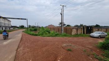 1,000sqm of Fenced Land, Along The Caritas Tarred Road, Emene, Enugu, Enugu, Mixed-use Land for Sale